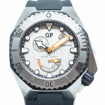 Girard Perregaux Sea Hawk 49960-11-131-FK6A Very good Steel 44mm Automatic