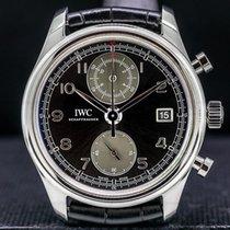 IWC Portugieser Chronograph IW390404 Sehr gut Stahl 42mm Automatik