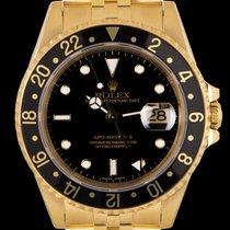Rolex Or jaune Remontage automatique Noir 40mm occasion GMT-Master II