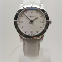 Versace Steel 33mm Quartz 78Q99SD498 S001 new