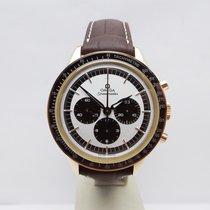 Omega Speedmaster Professional Moonwatch Rózsaarany 39.7mm Ezüst Számjegyek nélkül