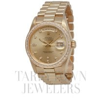 Rolex Day-Date 36 Yellow gold 36mm Champagne United States of America, New York, Hartsdale