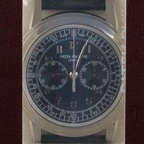 Patek Philippe Platinum Manual winding Blue Arabic numerals 42mm new Chronograph