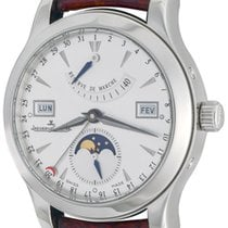 Jaeger-LeCoultre Master Calendar Steel 40mm Silver No numerals United States of America, Texas, Dallas
