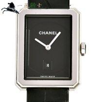Chanel Boy-Friend Acier 33mm Noir