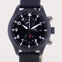 IWC Pilot Chronograph Top Gun Ceramika 44mm Brązowy Arabskie