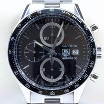 TAG Heuer Carrera Calibre 16 gebraucht 41mm Chronograph Stahl