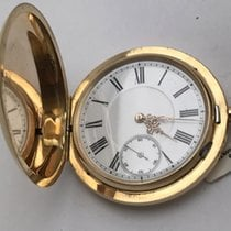 Unikatuhren Yellow gold 52mm Manual winding Sprungdeckel Goldtaschenuhr pre-owned