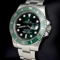 Rolex Submariner Date 116610LV 2012 pre-owned
