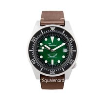 Squale Steel 42mm Automatic 026 Squale 1521 Green Professional Limited new