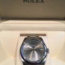 Rolex Oyster Perpetual 39 Acier 39mm Gris Sans chiffres France, Ernée