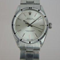 Rolex Oyster Perpetual 34 Stahl 34mm Silber Keine Ziffern Schweiz, Crans-Montana