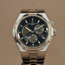 Vacheron Constantin Overseas Dual Time 47450/B01A-9227 Zeer goed Staal Automatisch