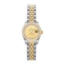 Rolex Lady-Datejust Stahl 26mm Champagnerfarben Keine Ziffern