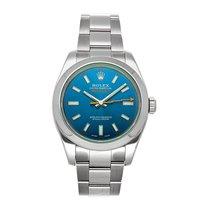 Rolex Milgauss Steel 40mm Blue No numerals United States of America, Pennsylvania, Bala Cynwyd