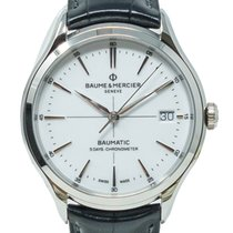 Baume & Mercier Clifton 10518 New Steel 40mm Automatic