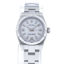 Rolex Oyster Perpetual 26 usados 26mm Blanco Acero