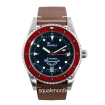 Squale Steel 39mm Automatic 065 Squale Giramondo GMT new