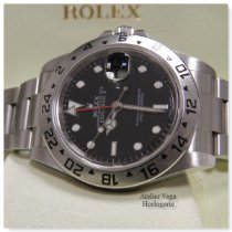 Rolex Explorer II Acier 40mm Noir Sans chiffres France, Bastia