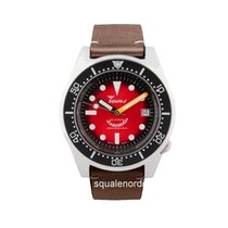 Squale Steel 42mm Automatic 1521 Squale Red Passion new