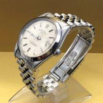Rolex Oyster Perpetual Date Stahl 34mm Silber Keine Ziffern Deutschland, Bonn