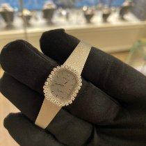Tissot Weißgold Quarz Silber Keine Ziffern 18mm gebraucht