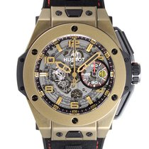 Hublot Big Bang Ferrari pre-owned 45mm Leather