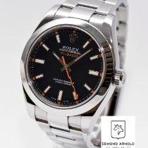 Rolex Milgauss Stahl 40mm Blau Deutschland, Juwelier Edmund Arnold, Colonnaden 26 in Hamburg