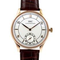 IWC Portugieser Handaufzug neu 2011 Handaufzug Uhr mit Original-Box und Original-Papieren IW544503