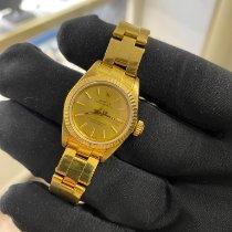 Rolex Oyster Perpetual Gelbgold Gold Keine Ziffern Schweiz, Basel