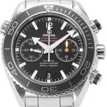 Omega Seamaster Planet Ocean Chronograph occasion 45.5mm Acier
