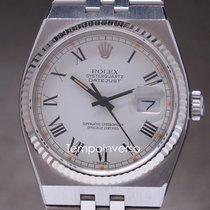 Rolex Datejust Oysterquartz Steel 36mm White Roman numerals