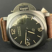 Panerai Special Editions Титан 47mm Черный