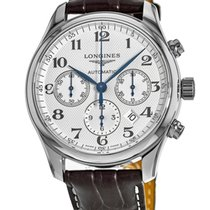 Longines Master Collection Steel 42mm Silver Arabic numerals United States of America, California, Los Angeles