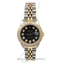 Rolex Datejust Steel Black No numerals United States of America, New York, NEW YORK