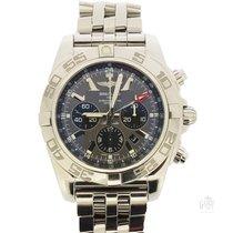 Breitling Chronomat GMT Steel 47mm Grey No numerals
