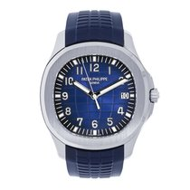 Patek Philippe Aquanaut White gold 42mm Blue Arabic numerals