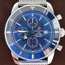 Breitling Superocean Héritage II Chronographe Acero 46mm Azul