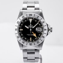 Rolex 1655 Steel 1979 Explorer II 40mm pre-owned United States of America, Massachusetts, Boston