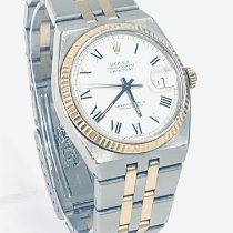 Rolex Datejust Oysterquartz Acero y oro 36mm Blanco Sin cifras España, vecindario
