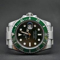 Rolex Submariner Date Steel 40mm Green No numerals Finland, Oulu