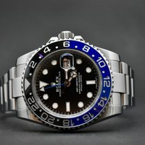 Rolex GMT-Master II Steel 40mm Black No numerals Finland, Oulu