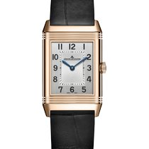 Jaeger-LeCoultre Reverso Classic Small Duetto Or rose 34mm Argent Arabes