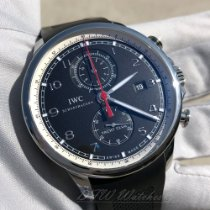 IWC Portuguese Yacht Club Chronograph Steel 45mm Black Arabic numerals United States of America, Texas, Frisco