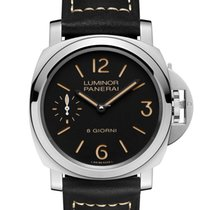 Panerai Luminor Base Steel 44mm Black United States of America, New York, New York
