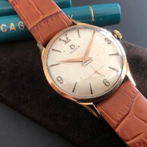 Milus Rose gold 35mm Manual winding 12 07 pre-owned