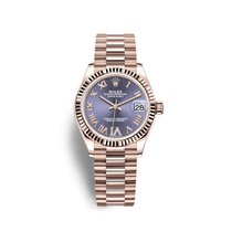Rolex Datejust Oro rosado 31mm Violeta