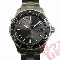 TAG Heuer pre-owned Automatic 41mm Grey Sapphire crystal 50 ATM