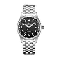 IWC Pilot's Watch Automatic 36 Ocel 36mm Černá