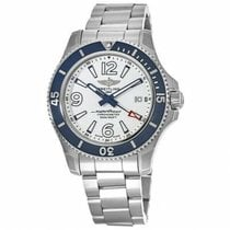 Breitling Superocean 42 Acero 42mm Blanco